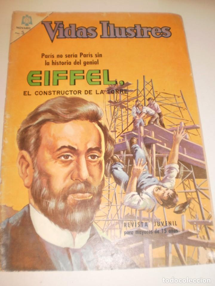 VIDAS ILUSTRES. EIFFEL. 1966 EDITORIAL NOVARO (Tebeos y Comics - Novaro - Vidas ilustres)