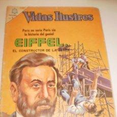 Tebeos: VIDAS ILUSTRES. EIFFEL. 1966 EDITORIAL NOVARO . Lote 160537182