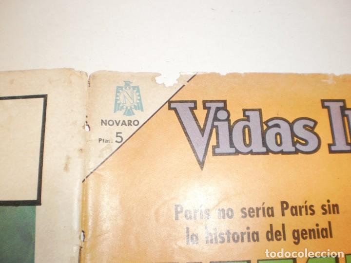 Tebeos: vidas ilustres. eiffel. 1966 editorial novaro - Foto 4 - 160537182