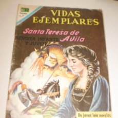 Tebeos: VIDAS EJEMPLARES. SANTA TERESA DE JESÚS. 1969 EDITORIAL NOVARO (EN ESTADO NORMAL). Lote 160537510