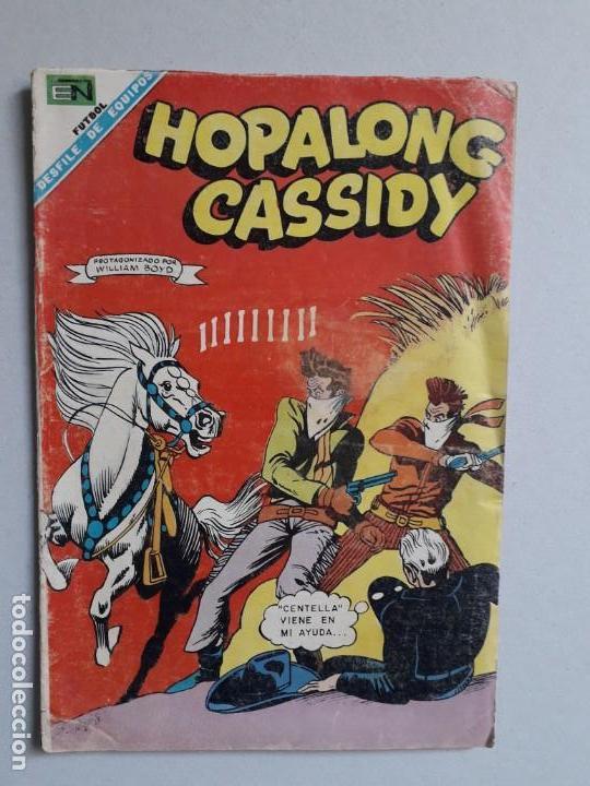 HOPALONG CASSIDY N° 157 - ORIGINAL EDITORIAL NOVARO (Tebeos y Comics - Novaro - Hopalong Cassidy)