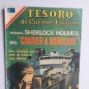 Tebeos: TESORO DE CUENTOS CLÁSICOS N° 172 - SHERLOCK HOLMES - ORIGINAL EDITORIAL NOVARO. Lote 160565898