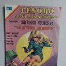 Tebeos: TESORO DE CUENTOS CLÁSICOS N° 168 - SHERLOCK HOLMES - ORIGINAL EDITORIAL NOVARO. Lote 160566242