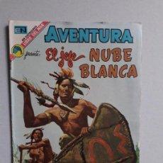 Tebeos: AVENTURA N° 801 - EL JEFE NUBE BLANCA - ORIGINAL EDITORIAL NOVARO. Lote 160567102