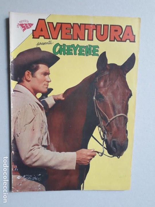 AVENTURA N° 233 - CHEYENE - ORIGINAL EDITORIAL NOVARO (Tebeos y Comics - Novaro - Aventura)