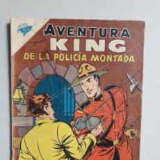 Tebeos: AVENTURA N° 126 - KING DE LA POLICÍA MONTADA - ORIGINAL EDITORIAL NOVARO. Lote 160567970