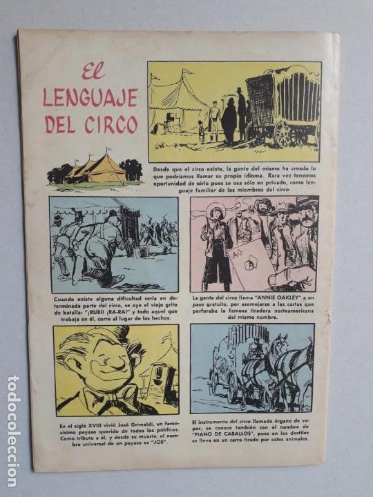 Tebeos: Domingos alegres n° 260 - El circo - original editorial Novaro - Foto 4 - 160568830