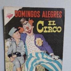 Tebeos: DOMINGOS ALEGRES N° 260 - EL CIRCO - ORIGINAL EDITORIAL NOVARO. Lote 160568830