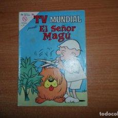 Tebeos: TV MUNDIAL Nº 20 EL SEÑOR MAGU EDITORIAL NOVARO. Lote 160585702