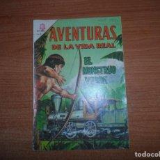 Tebeos: AVENTURAS DE LA VIDA REAL Nº 112 EL MOUNSTRO VERDE EDITORIAL NOVARO. Lote 160585866