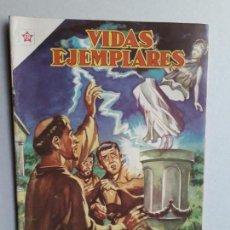 Tebeos: VIDAS EJEMPLARES N° 127 - ORIGINAL EDITORIAL NOVARO. Lote 160625342