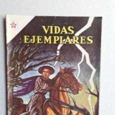 Tebeos: VIDAS EJEMPLARES N° 111 - ORIGINAL EDITORIAL NOVARO. Lote 160625622