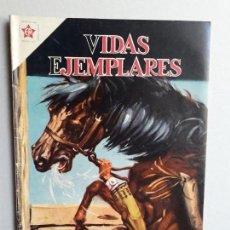 Tebeos: VIDAS EJEMPLARES N° 95 - ORIGINAL EDITORIAL NOVARO. Lote 160625914