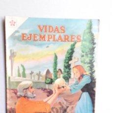 Tebeos: VIDAS EJEMPLARES N° 94 - ORIGINAL EDITORIAL NOVARO. Lote 160626174