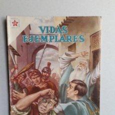 Tebeos: VIDAS EJEMPLARES N° 72 - ORIGINAL EDITORIAL NOVARO. Lote 160626626