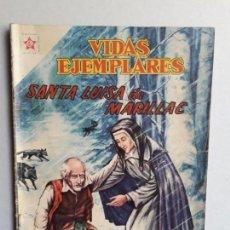 Tebeos: VIDAS EJEMPLARES N° 64 - ORIGINAL EDITORIAL NOVARO. Lote 160627006