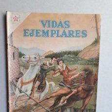 Tebeos: VIDAS EJEMPLARES N° 65 - ORIGINAL EDITORIAL NOVARO. Lote 160627282