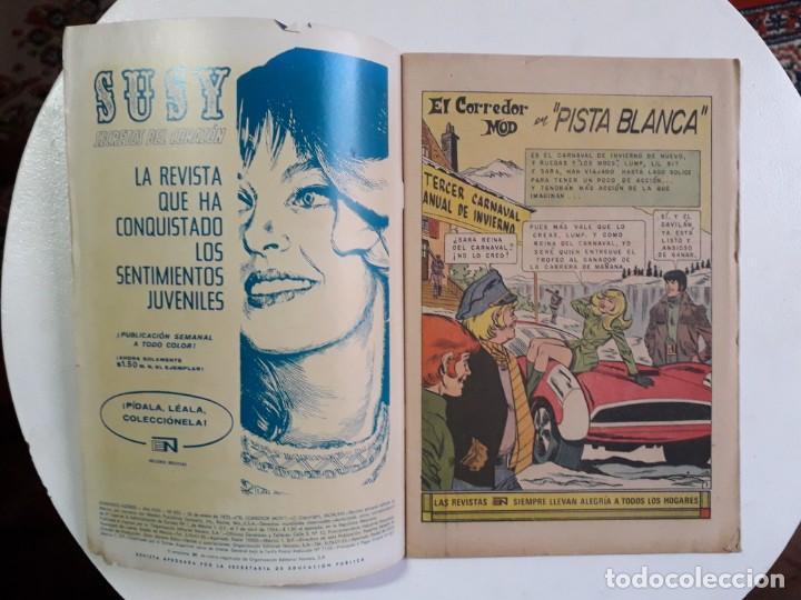 Tebeos: Domingos alegres n° 923 - El corredor Mod - original editorial Novaro - Foto 2 - 160668822