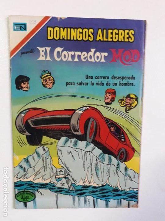 DOMINGOS ALEGRES N° 923 - EL CORREDOR MOD - ORIGINAL EDITORIAL NOVARO (Comics und Tebeos - Novaro - Domingos Alegres)