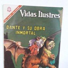 Tebeos: VIDAS ILUSTRES N° 146 - DANTE Y SU OBRA INMORTAL - ORIGINAL EDITORIAL NOVARO. Lote 160670626