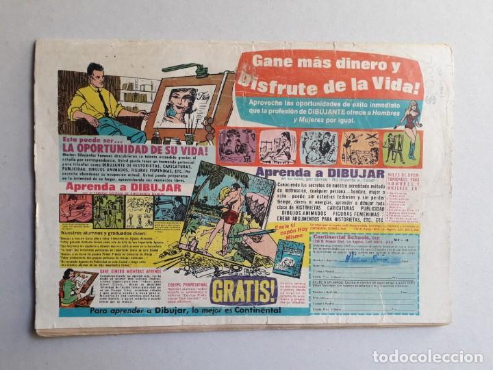 Tebeos: El llanero solitario n° 213 - original editorial Novaro - Foto 3 - 160930690