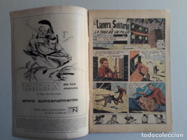 Tebeos: El llanero solitario n° 194 - original editorial Novaro - Foto 2 - 160930886