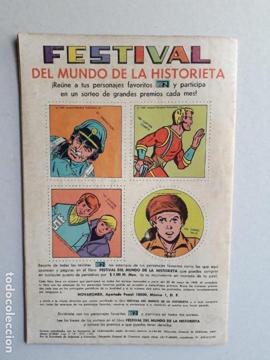 Tebeos: El llanero solitario n° 194 - original editorial Novaro - Foto 3 - 160930886