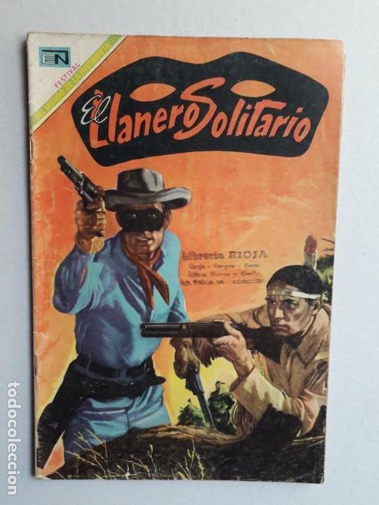 EL LLANERO SOLITARIO N° 194 - ORIGINAL EDITORIAL NOVARO (Tebeos y Comics - Novaro - El Llanero Solitario)