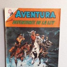 Tebeos: AVENTURA N° 409 - DEFENSORES DE LA LEY - ORIGINAL EDITORIAL NOVARO. Lote 160931726