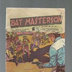 Tebeos: BAT MASTERSON 1, 1959, USADO. COLECCIÓN A.T.. Lote 160950838