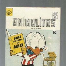 Tebeos: ANIMALITOS 46, SOL, MUY BUEN ESTADO. COLECCIÓN A.T.. Lote 161011262