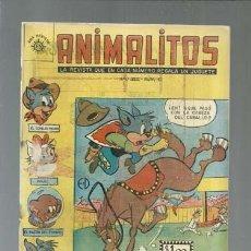 Tebeos: ANIMALITOS 45, 1961, SOL, MUY BUEN ESTADO. COLECCIÓN A.T.. Lote 161011430