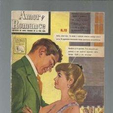 Tebeos: AMOR Y ROMANCE 10, 1959, LA PRENSA, MUY BUEN ESTADO. COLECCIÓN A.T.. Lote 161011978