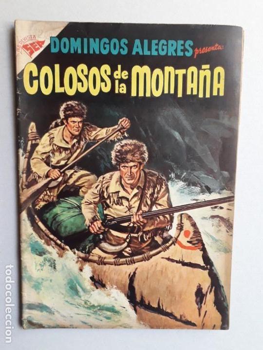 DOMINGOS ALEGRES N° 143 - COLOSOS DE LA MONTAÑA - ORIGINAL EDITORIAL NOVARO (Tebeos y Comics - Novaro - Domingos Alegres)