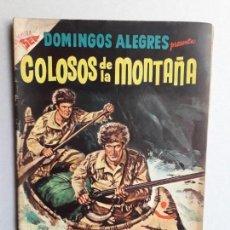 Tebeos: DOMINGOS ALEGRES N° 143 - COLOSOS DE LA MONTAÑA - ORIGINAL EDITORIAL NOVARO. Lote 161078330