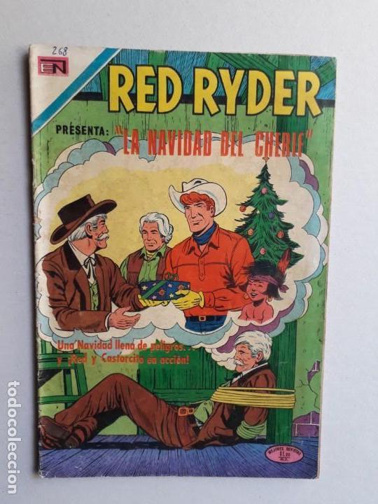 RED RYDER N° 268 - ORIGINAL EDITORIAL NOVARO (Tebeos y Comics - Novaro - Red Ryder)