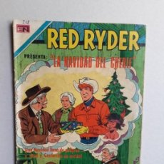 Tebeos: RED RYDER N° 268 - ORIGINAL EDITORIAL NOVARO. Lote 161079554