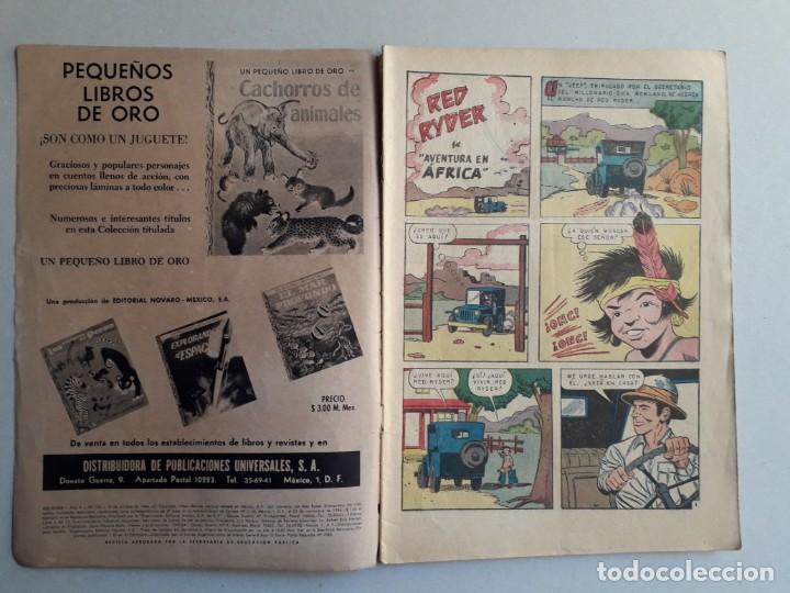 Tebeos: Red Ryder n° 120 (Aventura en África) - original editorial Novaro - Foto 2 - 161080494