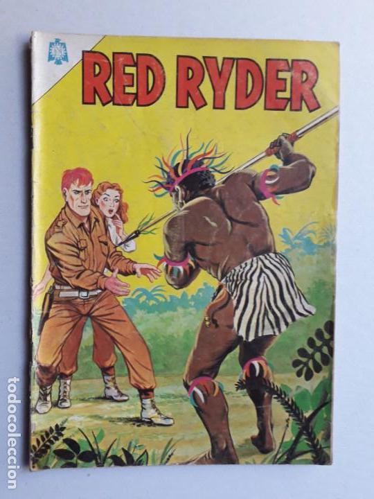 RED RYDER N° 120 (AVENTURA EN ÁFRICA) - ORIGINAL EDITORIAL NOVARO (Tebeos y Comics - Novaro - Red Ryder)