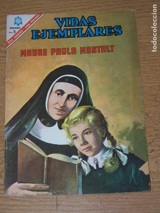 NOVARO VIDAS EJEMPLARES 235 MADRE PAULA MONTALT (Tebeos y Comics - Novaro - Vidas ejemplares)