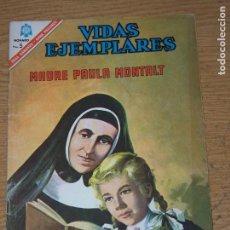 Tebeos: NOVARO VIDAS EJEMPLARES 235 MADRE PAULA MONTALT. Lote 161350510