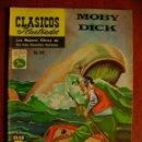 Tebeos: CLÁSICOS ILUSTRADOS N° 180 MOBY DICK - ORIGINAL EDITORIAL LA PRENSA - NO NOVARO. Lote 161534354