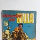 Tebeos: CABALGANDO CON VILLA N° 1 - ORIGINAL EDITORIAL LA PRENSA - NO NOVARO. Lote 161574262