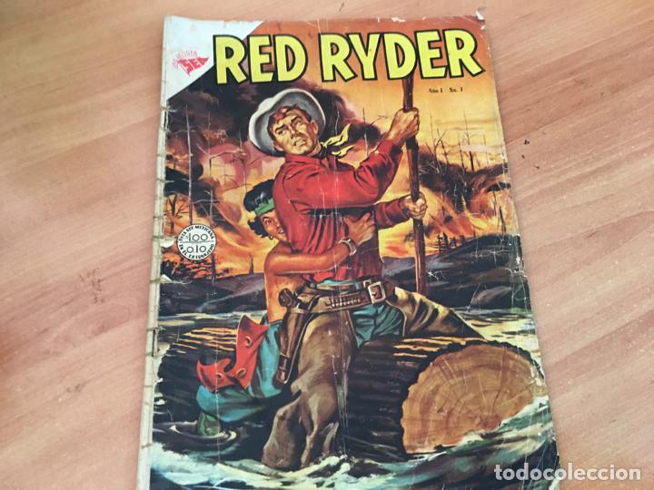 RED RYDER Nº 1 (ORIGINAL NOVARO) (COIM27) (Tebeos y Comics - Novaro - Red Ryder)
