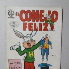Tebeos: EL CONEJO FELIZ N° 2 (1952) - ORIGINAL EDITORIAL PROTEO - NO NOVARO. Lote 161901398