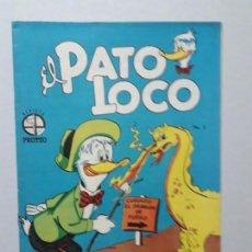 Tebeos: EL PATO LOCO N° 2 (1952) - ORIGINAL EDITORIAL PROTEO - NO NOVARO. Lote 161901714