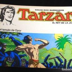 Tebeos: TARZAN. EDGAR RICE BURROUGHS. Nº 2. EN EL TEMPLO DE OPAR. NOVARO, 1976. Lote 162015469