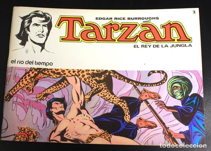 TARZAN. EDGAR RICE BURROUGHS. Nº 3. EL RIO DEL TIEMPO. NOVARO, 1976 (Tebeos y Comics - Novaro - Tarzán)