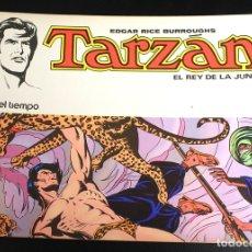 Tebeos: TARZAN. EDGAR RICE BURROUGHS. Nº 3. EL RIO DEL TIEMPO. NOVARO, 1976. Lote 162015532
