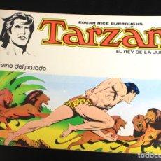 Tebeos: TARZAN. EDGAR RICE BURROUGHS. Nº 4. EL REINO DEL PASADO. NOVARO, 1976. Lote 162015612